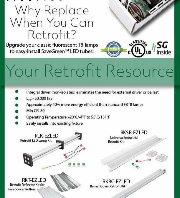 Why Replace when you can retrofit?