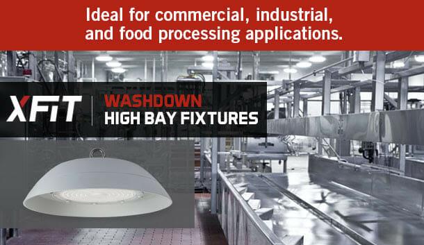 LED XFit Washdown High Bay Fixtures